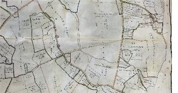 The south of the parish in 1808 [MA47]